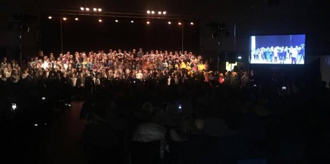 Hele Torvastad skole: Sterkere sammen!