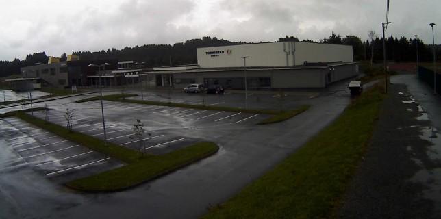 I sånt regnvær er det godt å kunne trene innendørs!